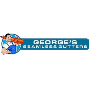 Company Logo For George's Seamless Gutters'