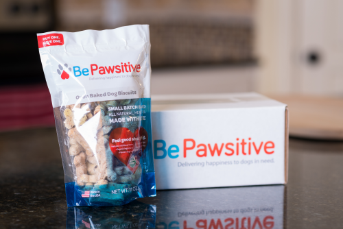 BE PAWSITIVE'