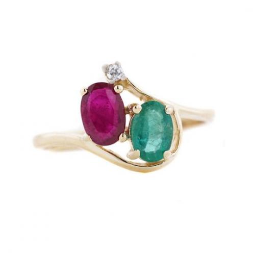 Gemstone Rings'