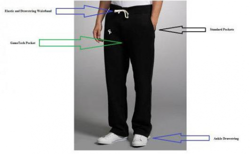 GamePants are the perfect marriage of comfort and function.'