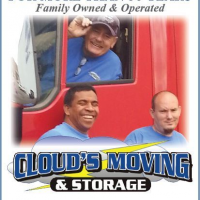 Clouds Moving And Storage Logo
