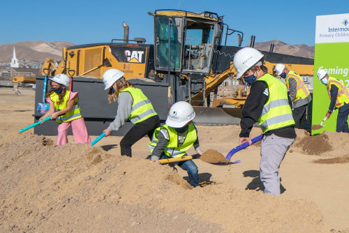 Intermountain Primary Children's Lehi Groundbreaking'