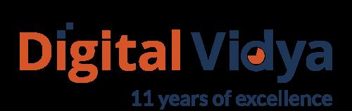 Digital Vidya11 Years'