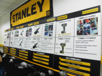 Stanley Tool Fair Booth