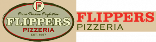Logo for Flippers Pizzeria'