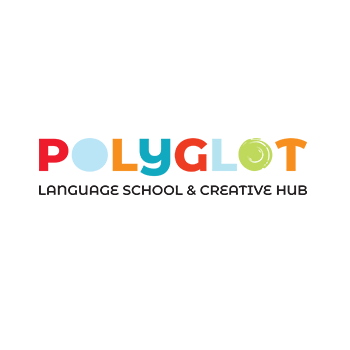 Company Logo For Polyglot Language School and Creative Hub'