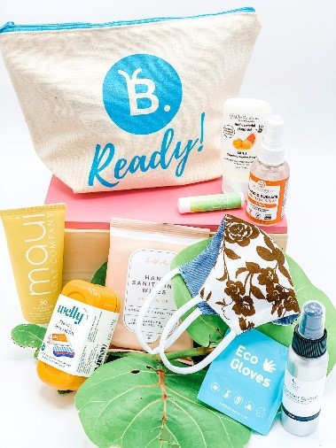 New Travel Safety Packs From  B. Ready'