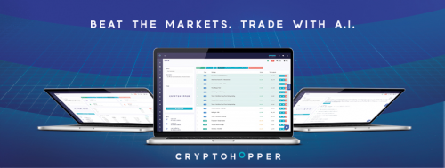 Cryptohopper Launches One-of-a-Kind A.I. Feature'