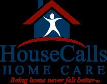 Company Logo For House Calls Home Care'