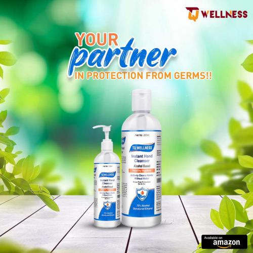 Tq Wellness Hand Sanitizer'