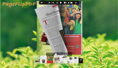 PageFlipPDF - pdf to flipbook in well designed template'