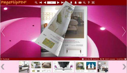 PageFlipPDF - digital magazine in Neat Template'