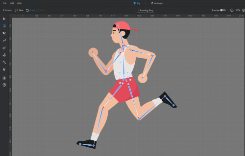 animated person creator'