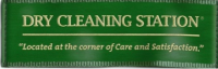 Dry Cleaning Station Logo