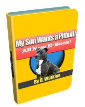 My Son Wants a Pitbull