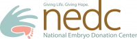 NATIONAL EMBRYO DONATION CENTER (NEDC) Logo