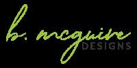 B. McGuire Designs Logo