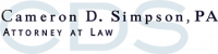 Cameron D. Simpson, PA, Attorney at Law Logo