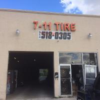 7-11 Tire Logo