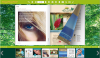 eFlip - flip book in green background!'