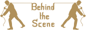 Behind The Scene - Wedding planner Company Logo