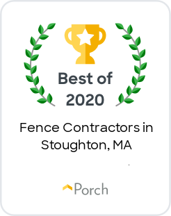 AVO Fence & Supply Earns 2020 Best of Porch Award'
