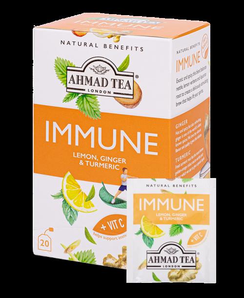 Ahmad Tea Natural Benefits Immune Tea'