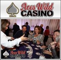 Aces Wild Casino Party Logo