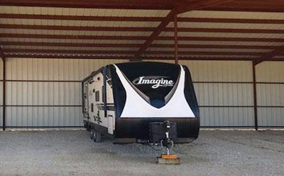 RV storage near McKinney TX'