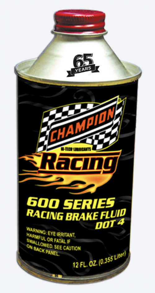 Champion Oil Hits the Apex with Racing Brake Fluid'