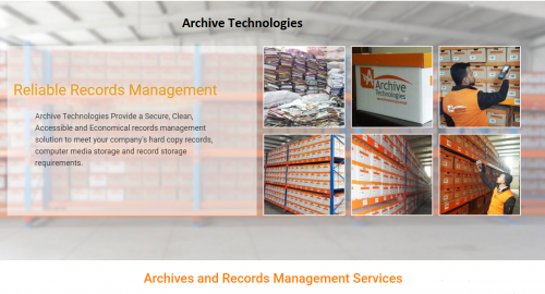Archive Technologies Records Management Company'