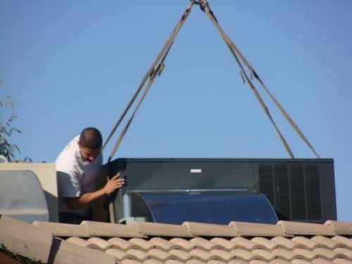 Air Conditioner Installation'