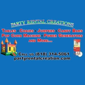 Company Logo For Party Rental Creation'
