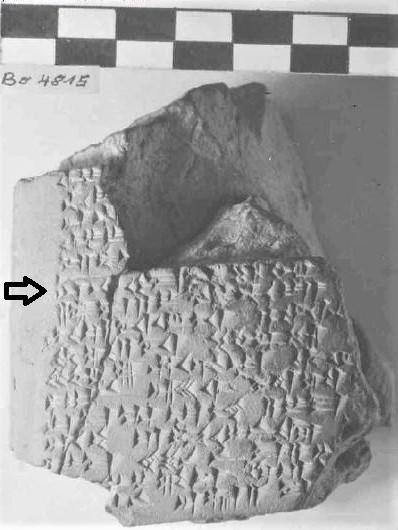 Dr. Joel Klenck: Noah Mount Ararat for God, KUB 8.61.'