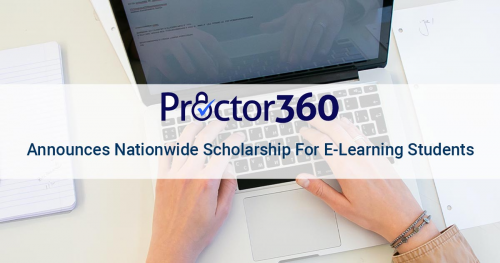 Proctor360 Announces Nationwide Scholarship For E-Learning'
