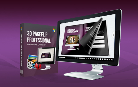 3D PageFlip Professional screen