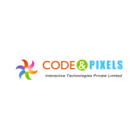IETM Development / Code and Pixels Logo
