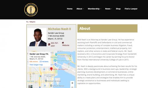 Nicholas M. Nash II NTBLA'