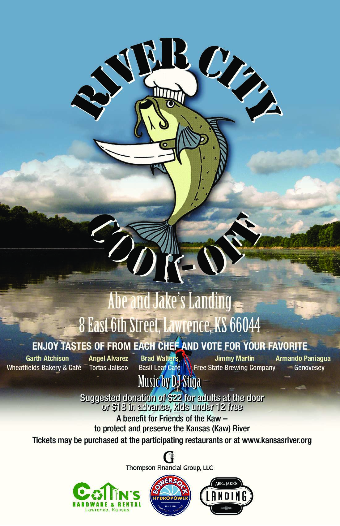 River City Cook Off Poster