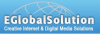 Logo for eglobal solution'