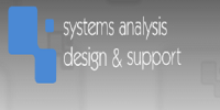 Systems Analysis Design & Support Logo