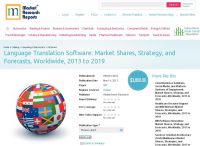 Industry Report on Language Translation Software 2013 - 19