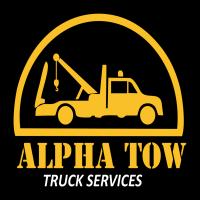 Alpha Tow Truck Service Logo