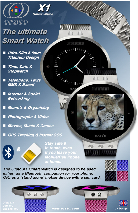 Orsto -The Ultimate Smartwatch