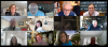 The Pi Gamma Mu Board of Trustees holds a virtual meeting.'