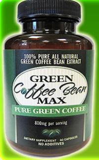 Green Coffee Bean Max Trade Logo