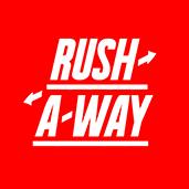 The Rush-A-Way Logo