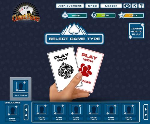 card game2'