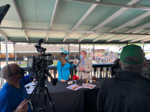 Kentucky Derby Event Production  by Van Wagner'
