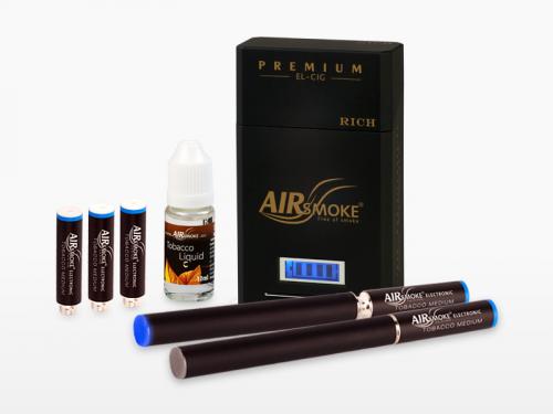 Premium Rich Electronic cigarette : Black color'